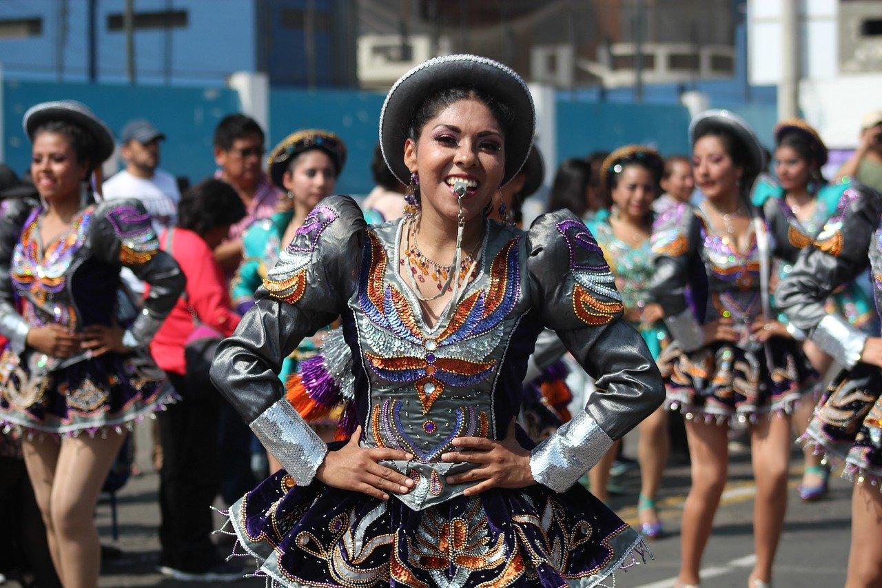 dance, latin, peru